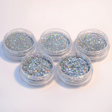 BORN PRETTY 1 Box Holographic Glitter Powder Shiny Holo Nail Glitter Dust Powder Manicure DIY Nail Art Decoration