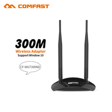 COMFAST 300Mbps High Power USB Wifi adapter CF-WU7300ND Wireless network card RALINK RT3072 chipset wireless wifi adaptor router(China)
