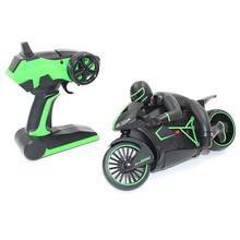 Electric Mini RC Motorcycle 2.4Ghz 4Channels Remote Control Rechargeable Motorcycle With EU Plug