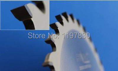 On sale of 1pc professional grade 125x5.0x20x24T TCT scoring blade for hard wood/plastic/Aluminum/soft metal profile scoring<br><br>Aliexpress
