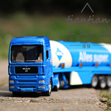 siku Children toy car model 1:64 Tanker truck metallic material Can be dismantled Children like the gift