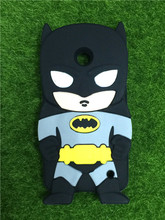 For Nokia Lumia 630 N630 Covers New Style 3D Cartoon Cute Batman Super Hero Series Soft Rubber Back Phone Cases