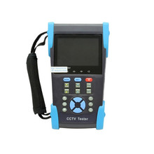 "HVT-2601 3.5"" TFT LCD IP Camera CCTV POE Tester Monitor PTZ Controller 10x Zoom DV(China)"