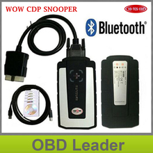 Promoting ! Free Shipping CDP Pro WOW CDP snooper SCANNER V5.008 R2 Software cdp pro obd2 Diagnostic Tool for cars trucks 3in1
