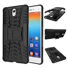 "For Lenovo Vibe S1 Heavy Duty Defender Case For Lenovo Vibe S1 5.0"" With Kick-Stand Impact Hybrid Armor Hard Cover Phone Cases"