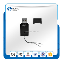 FREE SHIPPING USB 4.8 MHz ISO 7816 Sim PC/SC Smart Card Reader With free SDK For  Windows and Linux --- ACR39T-A1