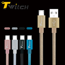 Twitch Micro USB Cabel Fast Charging Mobile Phone USB Charger Cable Microusb Cable For Samsung Xiaomi Huawei MEIZU Umi Rome X