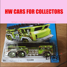 Buy Toy cars Hot Wheels 1:64 5 Alarm Car Models Metal Diecast Cars Collection Kids Toys Vehicle Children Juguetes 74 for $4.46 in AliExpress store