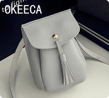 OKEECA Women Mini Handbags Leather Crossbody Single Shoulder Bag Cellphone Pouch Purse Wallet for iPhone Samsung Galaxy Nokia