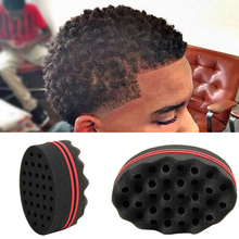 Hair Small Wave Twists Magic Sponge Brush for Locking Coil Afro Curl Barber Tool(China)