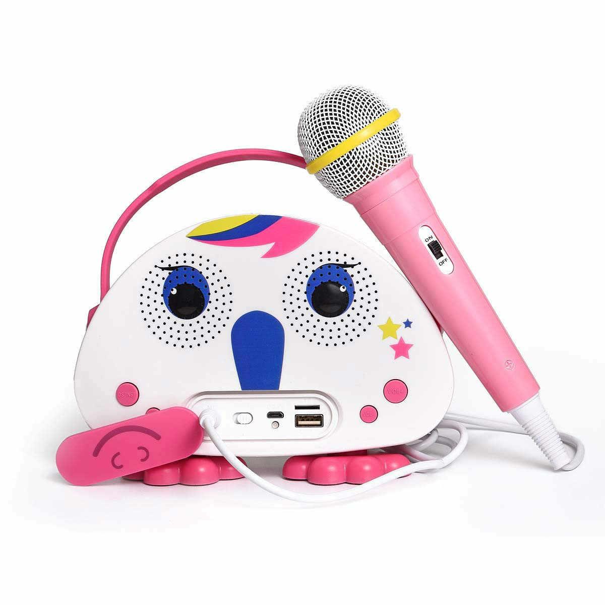 детский микрофон караоке с флешкой купить