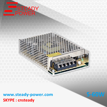 Manufacturer 60W 5v 12a / 12V 5A /24v 2.5a led tv power supply/ac dc adapter 60 watt /led driver