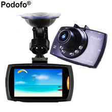 "Podofo 2.7"" Car Dvr G30 Full HD 1080P Car Camera Recorder With Loop Recording Motion Detection Night Vision G-Sensor Car DVRs"