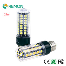 2Pcs Real Full Watt 3W 5W 7W 8W 12W 15W E27 E14 LED Corn Bulb 85V-265V SMD 5736 LED lamp spot light 28/40/72/108/132/156 LEDs
