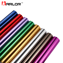 10cmx100cm Chrome Mirror Vinyl Wrap Film Car Sticker Decal DIY Car Bike Motor Body Cover Wrapping Film Automobiles Accessories