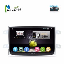 "ZNY 8"" Android 7.1.2 Car Stereo For Renault Duster Dacia Sandero Logan Dokker Auto Radio RDS GPS Glonass Navigation WiFi No DVD"