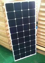 The latest innovative solar power products, 100w power, high power generation efficiency, semi-flexible solar panels