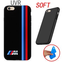 UVR Brand For silm BMW M Series M3 M5 Cover Case For iPhone 4 4S 5 5C SE 6 6S 7 Plus 4.7 5.5 Ultra thin soft case(China)