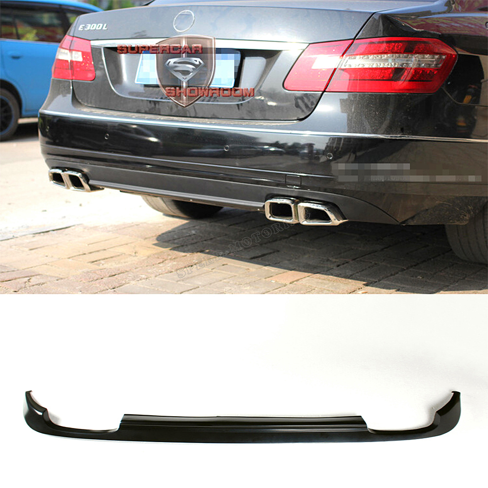 High quality PU Rear Bumper Diffuser for Benz W212 E200 E250 E350 E500 E550 standard bumper 2010 - 2013 not for AMG<br><br>Aliexpress
