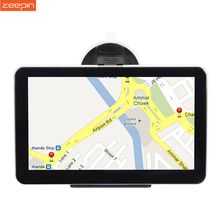 A2 7 inch Touch Screen Vehicle GPS Navigation Car Video Player FM Rechargeable Li-ion Windows CE 6.0 mini USB Port Car GPS Nav(China)