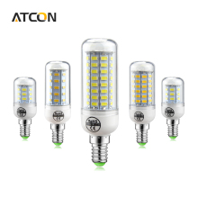 1Pcs More Longer Lifespan LED Bulbs light E14 24 36 48 56 69 72 81 89 LEDs Corn lamp 220V With SMART IC Protection Power