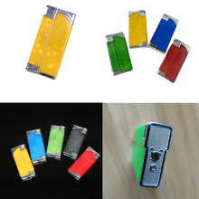 Funny Plastic Windproof Reuse Lighter Electric Shock Toy Multifunction Novelty Joke Gifts Prank Toy