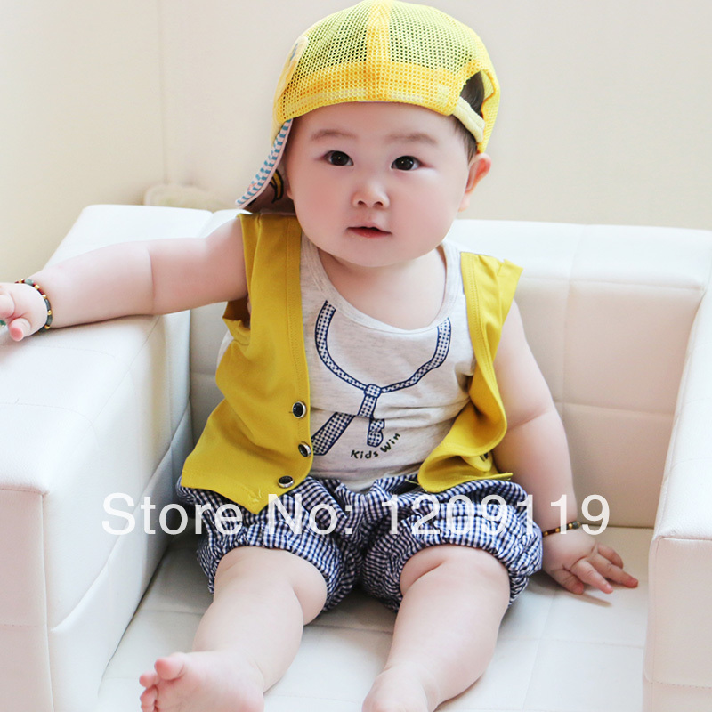 Online 6 12 Months Old Infant Clothes Summer 0 1 Year Baby Boy Set 2 Years Children S Clothing Aliexpress Mobile