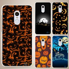 Happy Halloween Hard White Cell Phone Case Cover for Xiaomi Mi Redmi Note 3 3S 4 4A 4C 4S 5 5S Pro