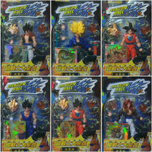6 PCS/LOT Dragon Ball Z Toys Figure Set  Dragonball Kai Doll  PVC 15CM Height DBFG03