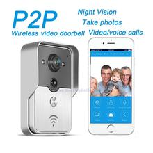 2015 Hot New Wifi Doorbell Camera Wireless Video Intercom Phone Control IP Door Phone Wireless Door bell