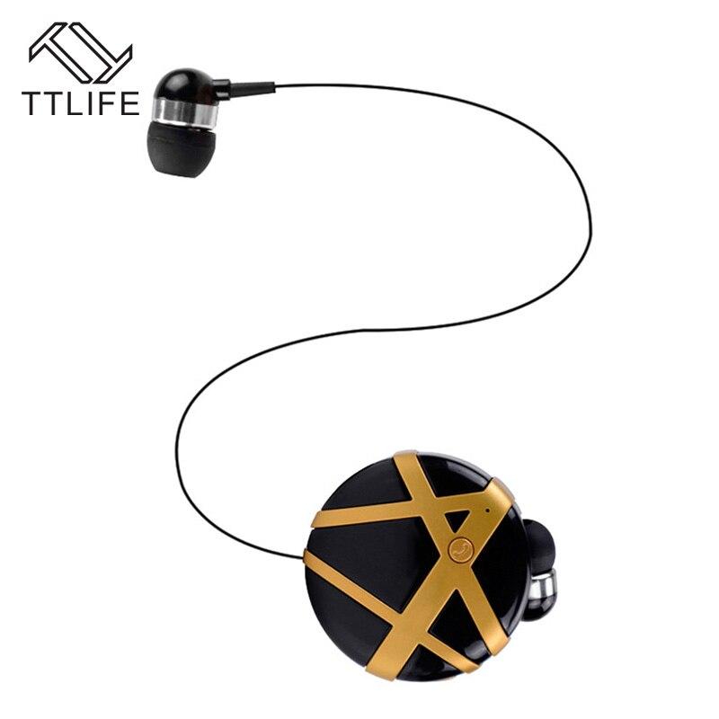 TTLIFE Newest Original sport Wireless Bluetooth 4.0Headphones Call Remind Vibration Wear Portable Collar Clip Earphone for phone<br><br>Aliexpress