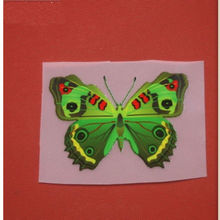 S05 The butterfly pattern plant offset transfer heat transfer paste clothes accessories for children DIY patch applique patches