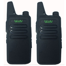 2pcs WLN KD-C1 UHF 400-470 MHz MINI handheld transceiver two way Ham Radio communicator Walkie Talkie radio station handy talky