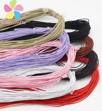 25yard/bundle 0.8mm Beading elastic Stretch Cord Beads Cord String Strap Rope Bead For Bracelet 013006033(China)