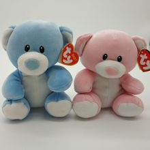 lullaby blue bear princess pink bear 15CM baby Ty Stuffed Animal Toy Birthday Gift SOFT TOY Plush Toy(China)