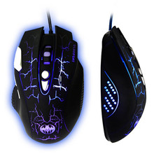 PC Gaming professional players Mouse 3200 DPI 8D LED Optical USB Wired Gaming Mouse Mice For Pro Gamer 2017 Brand New Mouse