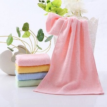 High Quality Quick Dry Bamboo Fiber Bath Towel 25x50CM Mini Face Towel Children Towel Super Soft Solid Strong Water Absorption