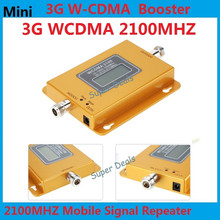 LCD Display Mini 70db 3G LTE WCDMA UMTS 2100Mhz 3G Repeater Mobile Phone 3G Signal Booster WCDMA Signal Repeater Amplifier
