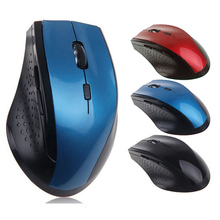 New Fast Moving 2.4GHz Wireless Optical Gaming Mouse Game Mice For Computer Laptop Accessory(China)