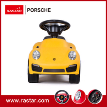 Rastar licensed Porsche 911 turbo s foot to floor cars with horn and chassis ride on car toys for children 83400