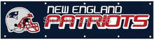 NFL New England Patriots banner flag 8X2FT custom logo polyester fabric