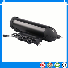 EU US no tax Great 48V Bottle battery 48V 13AH electric bicycle Battery down tube type lithium ion battery pack with charger(China)