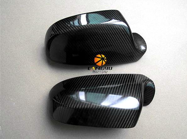 buy carbon fiber replacement type rearview mirror covers