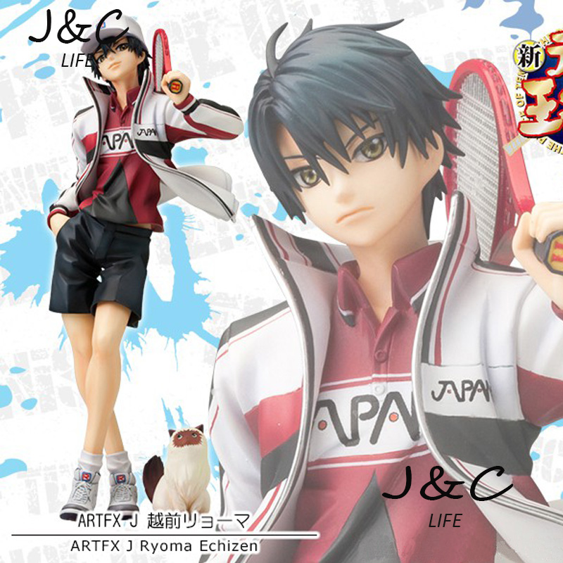 Free Shipping The Prince of Tennis Ryoma Echizen Action Figure Toy 21CM for Kits Collectible Moedl Brinquedos Boys Toy Gift<br>