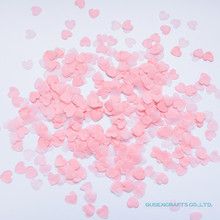 10g/bag 1inch=2.5CM Light Pink pink and rose Heart Paper Confetti Wedding Balloon Table Decorations Party Event