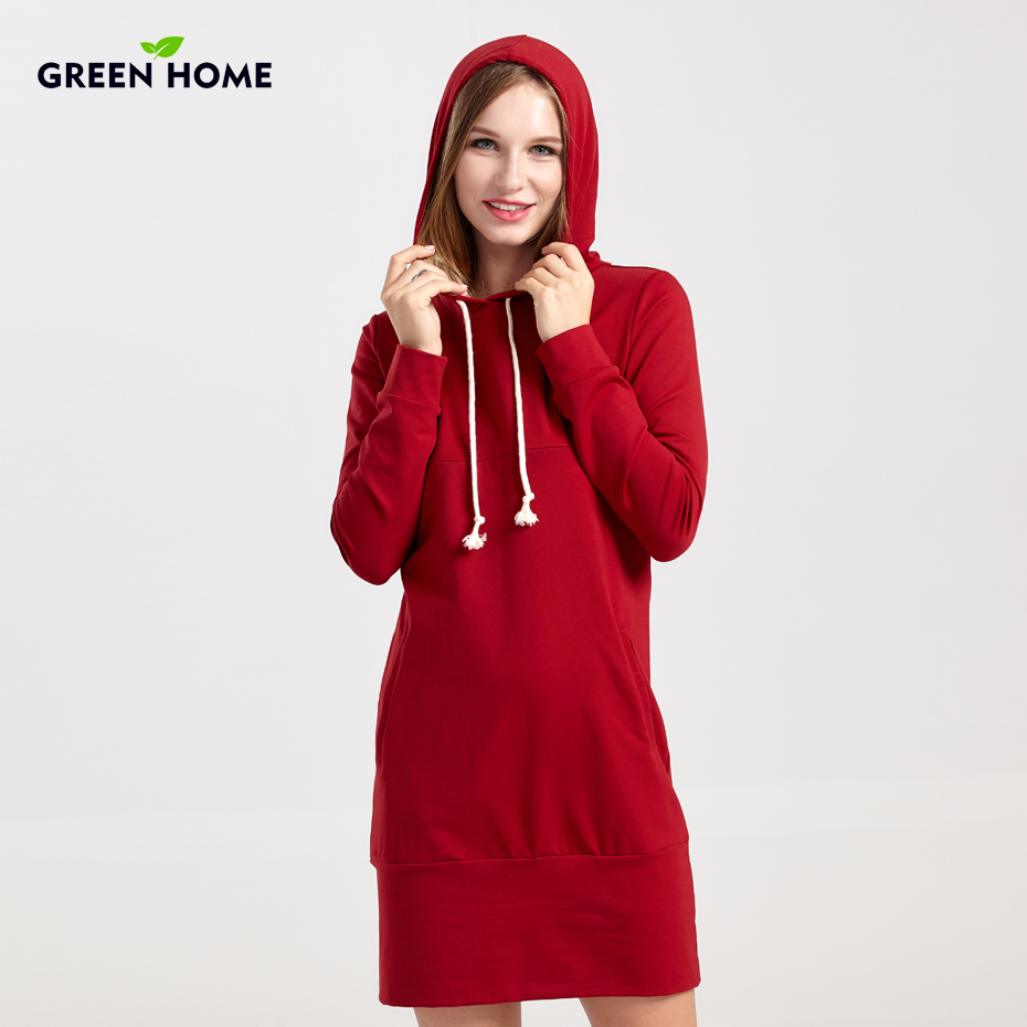 Online buy wholesale tight maternity dresses from china tight green home thicken maternity winter tops nursing dress casual pregnancy breastfeeding hooded maternity dresses tight for ombrellifo Image collections