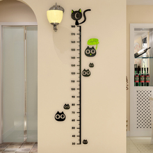 The baby infant children's room wall stickers affixed height Park height ruler acrylic 3D three-dimensional wall stickers