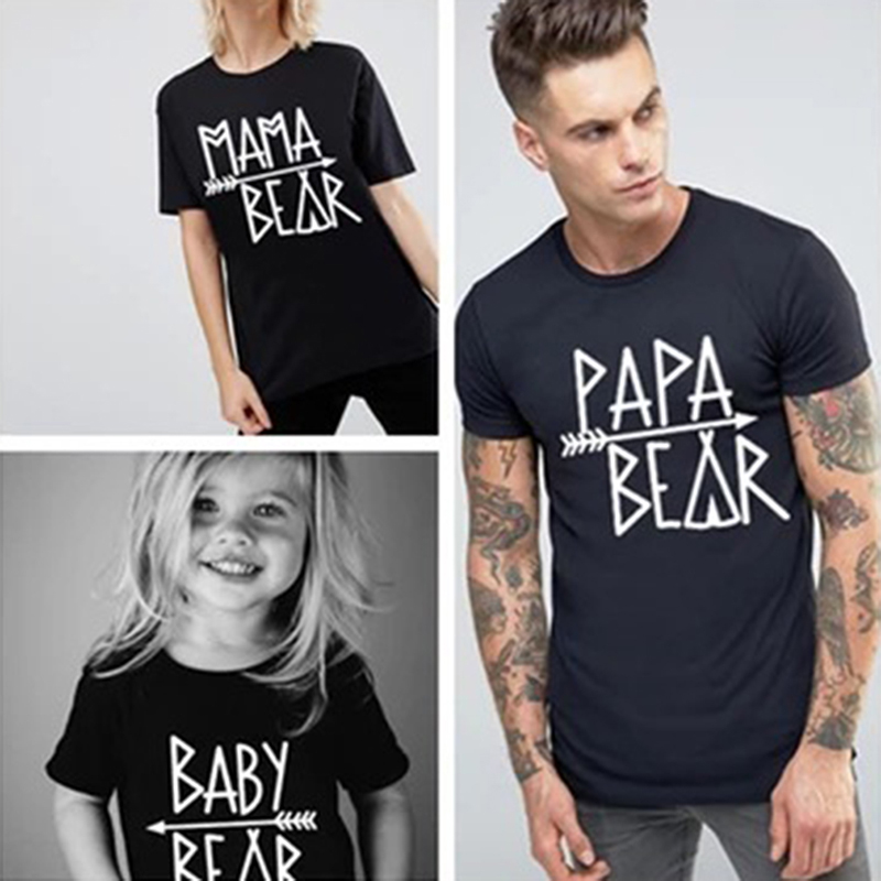 Family Matching Bear and Arrow Tee Shirt