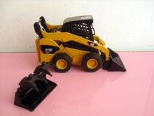 N-55167 1:32 CAT 272C Skid Steer Loader toy(China)