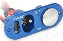 Kosta RC Hobby Accessories Heavy Duty Single Powe Switch W/ Fuel Dot For RC Airplane Engine Part